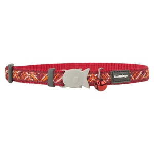 Flanno Cat Collar – Red