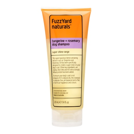 Tangerine and Rosemary Super Shine Shampoo