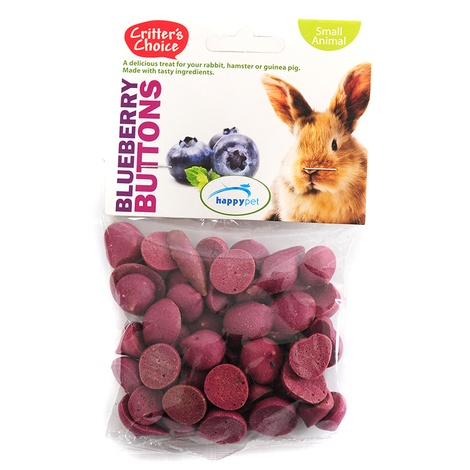 Blueberry Buttons for Small Pets