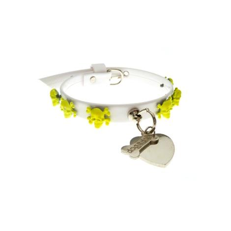 Fancy Dog Collar - Yellow