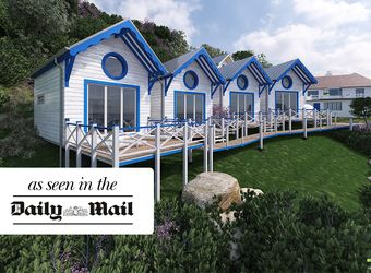 Beach Hut Suites at the Cary Arms, Devon