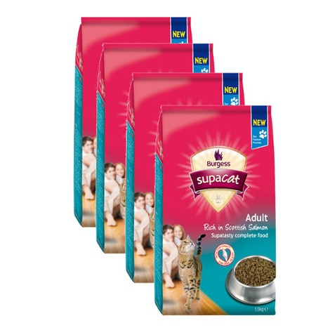 Supa Cat Adult Salmon Cat Food