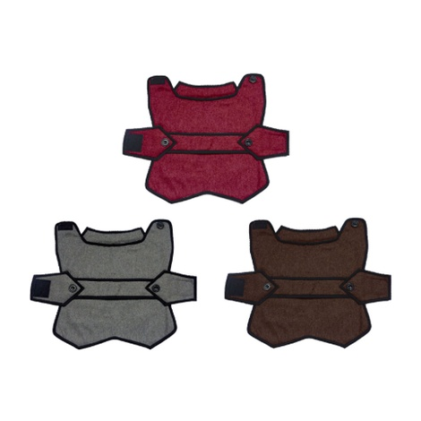 Grey Wool Blazer Dog Coat 5