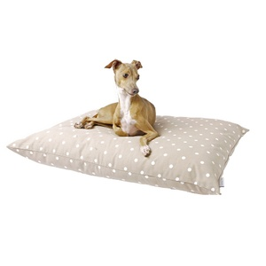Cotton Top Day Bed - Dotty Taupe