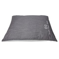 Personalised Grey Dog Bed