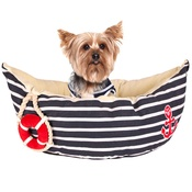 Pet Brands - Sailor Boat Bed