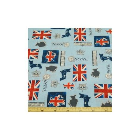 Toggles Rule Brittania Puppy & Dog Bandana 2