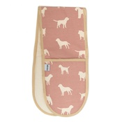 Mutts & Hounds - M&H Old Rose Oven Gloves