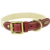 Clementine est. Dogs - Astor Webbing Dog Collar – Burgundy