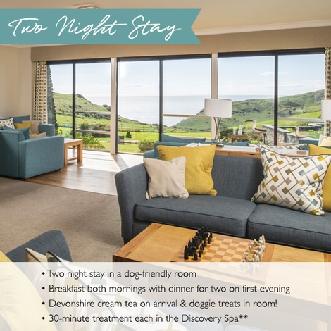 Soar Mill Cove Devon Exclusive Two Night Stay Voucher