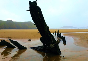 Rhossili Scamper Holidays - Sands Shepherd Hut, Swansea 5