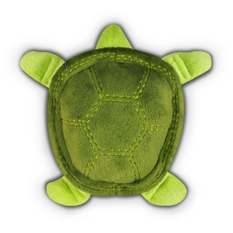 Green Sea Turtle Plush Squeaky Dog Toy 2