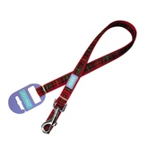Hem & Boo - Red Tartan Dog Lead