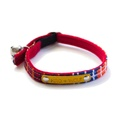 Banda Red Cat Collar 2