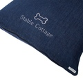 Personalised Denim Dog Bed 2