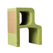 Catworks - Scratching Post - Letter R - Green