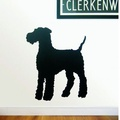 Airedale Wall Sticker 2