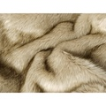 Faux-Fur & Fleece Dog Blanket - Oatmeal 2