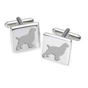 WithLoveFrom - Cufflinks - Cocker Spaniel