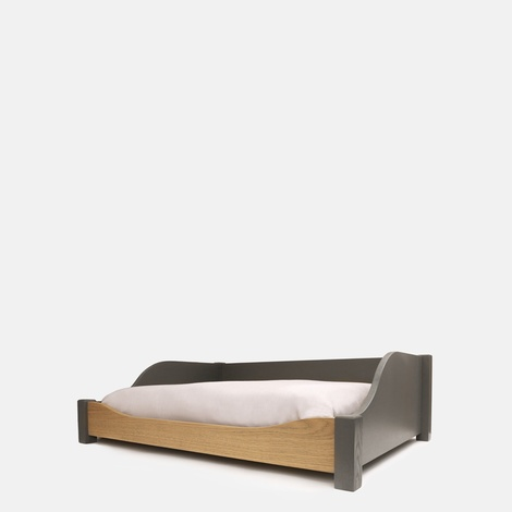 LUXURY WOODEN DOG BED - SMALL 2