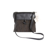 Twool - Woolly Bag Classic Pinstripe Cross Body Bag