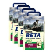 Beta - Senior Dog Food x 4