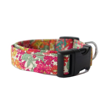 Delilah Liberty Print Dog Collar
