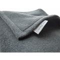 Double Fleece Dog Blanket - Charcoal 3