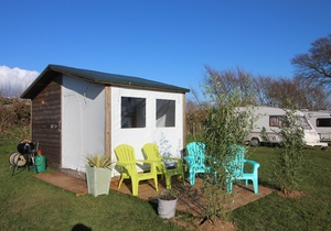 Llangennith Scamper Holidays - Timber Tent, Swansea 4