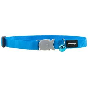 Plain Turquoise Cat Collar