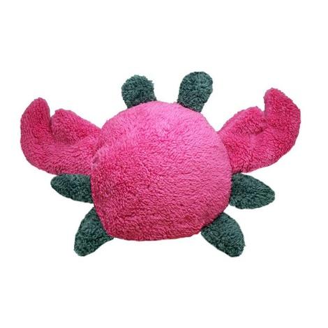 Fuzzies Crab Dog Toy