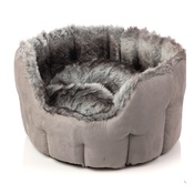 House of Paws - ARCTIC SILVER FOX SNUGGLE BED