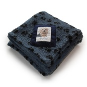 Princey's Blankets - Harbour Paw Print Personalised Blanket