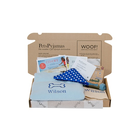 Puppy Gift - Blue