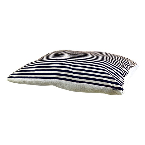 Kudos Lavanda Knife Edge Cushion – Navy Blue