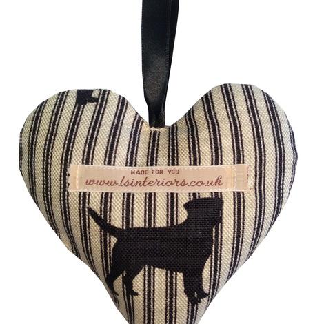 Labrador Lavender Heart