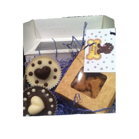 Small Doggie Delights – 6 Mini Pup-cakes 2