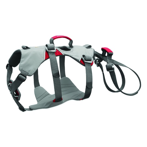 Doubleback Dog Harness – Cloudburst Gray 3