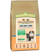 James Wellbeloved - Junior Turkey & Rice (Large Kibble) Dog Food