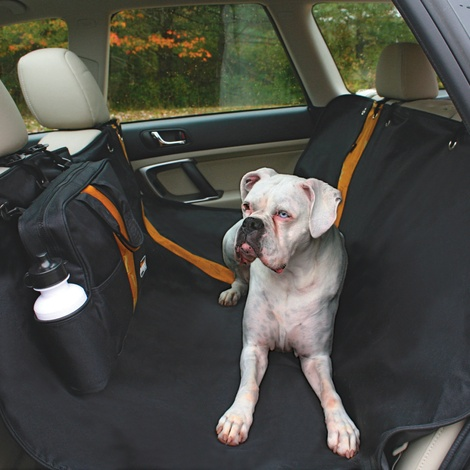 Wander Hammock Car Seat Cover - Black 2