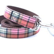 Pet Pooch Boutique - Acorn Barkberry Plaid Lead