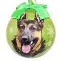 German Shepherd Christmas Bauble