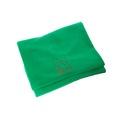 Personalised Green Christmas Blanket - Italic font