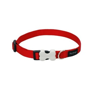 Plain Dog Collar - Red