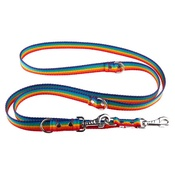 El Perro - Adjustable Juicy Style Dog Lead - Rainbow