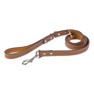 Tuscany Leather Dog Lead – Brown