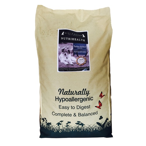 NutriHealth Senior Dog Turkey & Rice 12kg