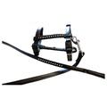 Black Diamante Dog Harness & Lead Set 2