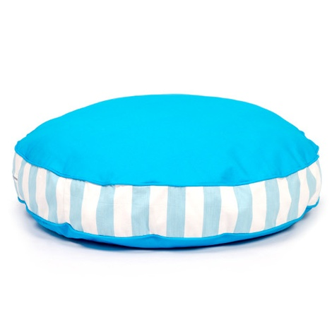 Bon Bon Soft Dog Bed - Blue Stripe 2