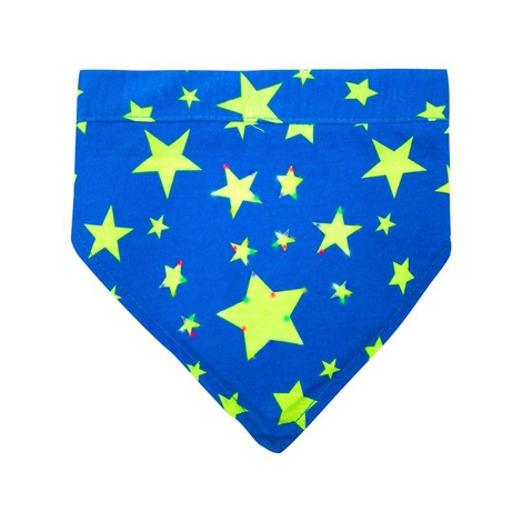 Toggles Twinkles Starry Night Dog Bandana – Blue